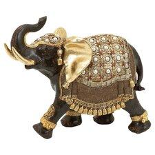Elephant Figurine in Gold