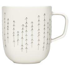 iittala Sarjaton Metsa 12 Oz. Mug in White