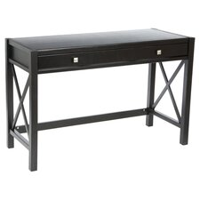 Anna Writing Desk in Antique Black
