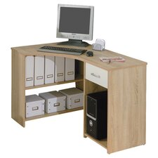 Caprera Corner Computer Desk in Natural