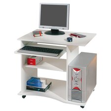 Durini Computer Desk in White