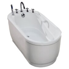 "Aquatica PureScape 51"" Bathtub in White"