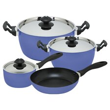 Futura 7 Piece Cookware Set in Blue