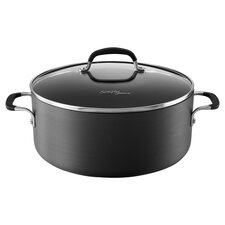 Calphalon Simply Nonstick 7 Qt. Dutch Oven in Black