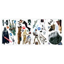 Star Wars 31 Piece Classic Wall Decal