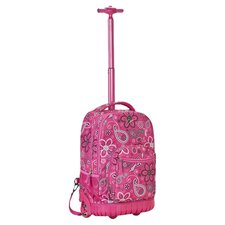 Lyla Rolling Backpack in Pink