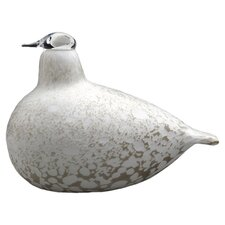 iittala Willow Grouse Figurine in White