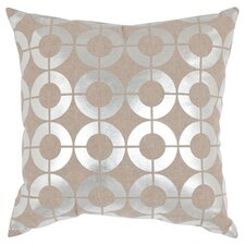 Bailey Throw Pillow in Silver