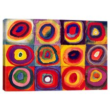 Squares with Concentric Circles Canvas Art by Wassily Kandinsky