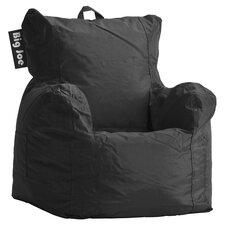 Kids Bean Bag Lounger in Black