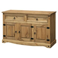 Corona Wide Sideboard I in Pine