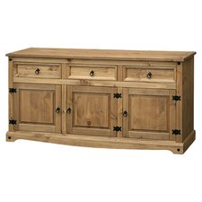 Corona Wide Sideboard II in Pine