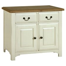 Savannah Sideboard in Oak & Ivory