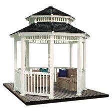 Magnolia Gazebo in White