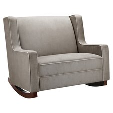 Baby Relax Rocking Loveseat in Brown