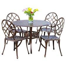 5-Piece Cosette Indoor/Outdoor Dining Set