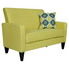 Sutton Loveseat in Lime Green