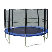 Feldman 14' Trampoline & Enclosure Set in Blue