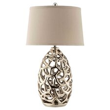 Ripley Table Lamp in Silver