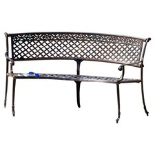 Amador Garden Bench in Copper