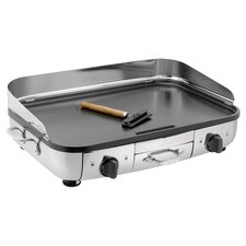 "All-Clad Electric 20"" Nonstick Griddle in Stainless Steel"