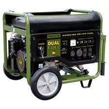 Sportsman Series 7500 Watt Dual Fuel Generator in Black