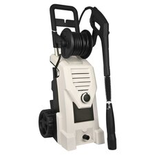 2000 PSI Electric Pressure Washer in White
