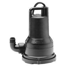 WAYNE Submersible Vortex Utility Pump in Black