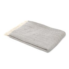 Celine Brushed Throw in Charcoal