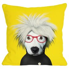 Gerry Throw Pillow in Yellow