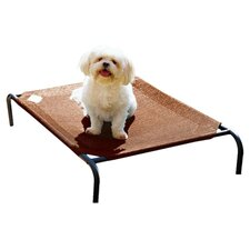 Elevated Dog Cot in Brown