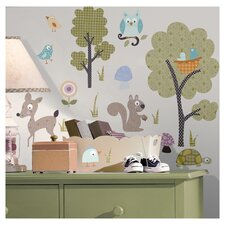 Woodland Animals Wall Decal Set