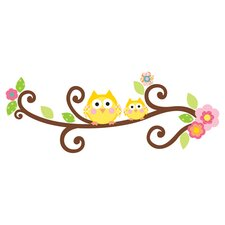 Tree Letter Branch Wall Decal Set