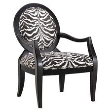 Linnet Arm Chair in Black