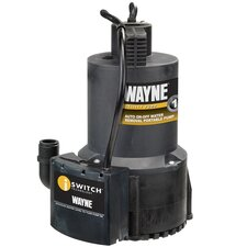 Automatic High Flow Utility Pump in Black