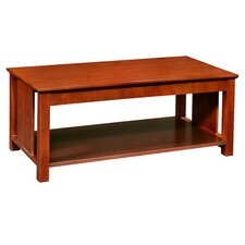 Transitions Coffee Table in Cherry