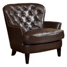 Peyton Arm Chair in Dark Brown