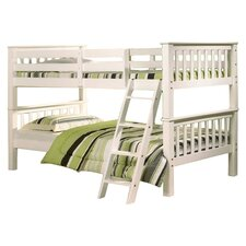 Oxford Single Convertible Bunk Bed in White