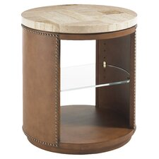 Road to Canberra East Timor End Table in Brown