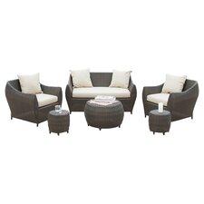 6-Piece Beaufort Indoor/Outdoor Seating Group Set