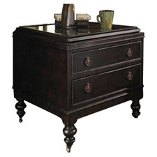 Kingstown Nelson End Table in Brown