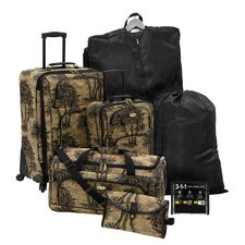 7-Piece Excursion Rolling Luggage Set in Palm