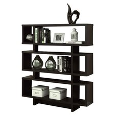 Garron Bookcase in Deep Cappuccino