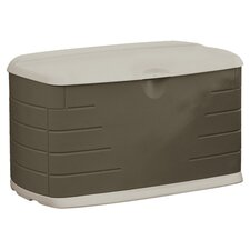 Rubbermaid Small Deck Storage Box in Olive