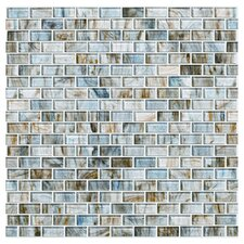 Glass Expressions Micro Blocks Tile Sheet in Seaglass