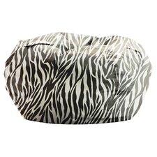 Big Joe Zebra Bean Bag Chair in Zebra