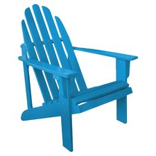Jessup Indoor/Outdoor Adirondack Chair in Turquoise