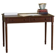 Gables Writing Desk in Rich Brown