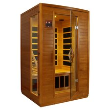 SpaStyle 2 Person Carbon FAR Infrared Sauna in Honey