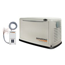 Generac Guardian 8000 Watt Propane Generator in Bisque